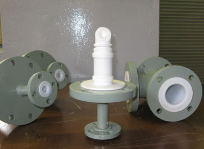 PTFE Lined Pipe and Fittings